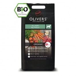 Olivers Organic All Ages medium, Balení 4 kg