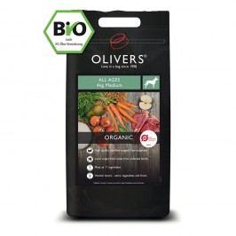 Olivers Organic All Ages medium, Balení 4 kg