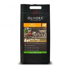 Olivers Puppy Max Meat 80% Grain Free, Balení 4 kg
