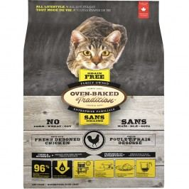 Oven-Baked Tradition Cat Adult Chicken Grain Free, Balení 2,27 kg