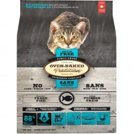 Oven-Baked Tradition Cat Adult Fish Grain Free, Balení 2,27 kg