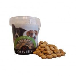 Olivers XL Snacks Grain Free Salmon 10x 30g