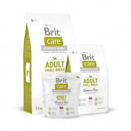 Brit Care Dog Adult Small Breed Lamb & Rice, Balení 1 kg